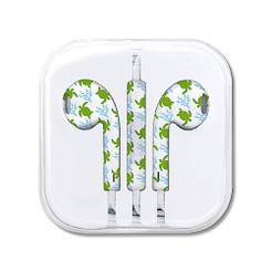 Hawaiian Style Ear Buds Honu Turtle Voyage