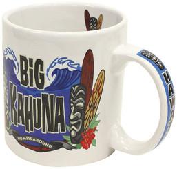 Hawaiian Stoneware Coffee Mug 20 oz. Big Kahuna