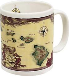 Hawaiian Islands Chain Coffee Mug
