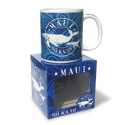 10 oz Hawaiian Coffee Mug Maui No Ka Oi