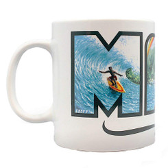 14 oz. Boxed Eddy Y Coffee Mug Maui Hawaii