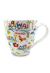 18 oz Hawaiian Adventures U-Shape Mug