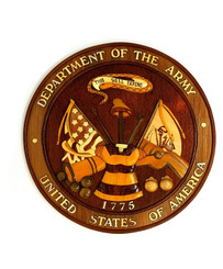 Wood Wall Hanging Insignia United States Army
