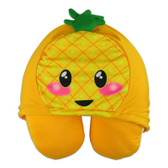 Hooded Neck Pillow Pineapple