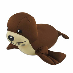 Monk Seal Aloha Buddy Neck Pillow