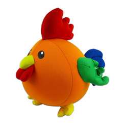 Island Chicken Aloha Buddy Neck Pillow