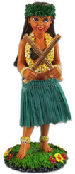 Poili Pilialoha Hula Girl Dashboard Doll