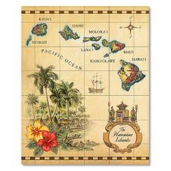64 View Photo Album Islands of Hawaii Tan