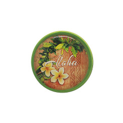 Ceramic Wine Stopper Cork Aloha Plumeria