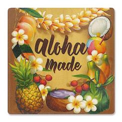 Hawaii Ceramic Coasters 4 Pack Aloha Made