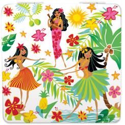 Hawaiian Island Hula Honeys Compact Mirror