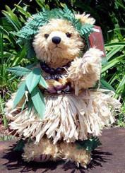 Malia The Kahiko Hula Bear of Hawaii
