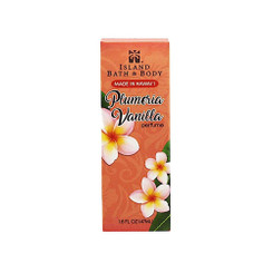 Island Bath And Body Perfume Plumeria Vanilla 1.6 Ounce