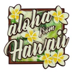 Islands Magnet Aloha Plumeria