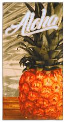 Vintage Pineapple Beach Towel