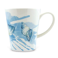 13 oz Lauren Roth Ceramic Art Mug Ocean
