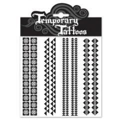 Temporary Tattoos Tapa Bands