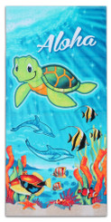 Honu Turtle Beach Towel