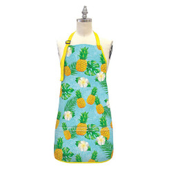 Island Heritage 100% Cotton Twill Fabric Apron Life Is Sweet Pineapple