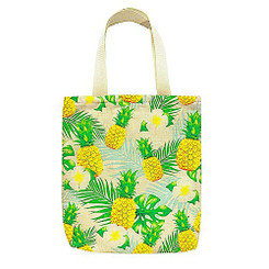 Island Heritage Woven Totes Hawaii Life Is Sweet Pineapple