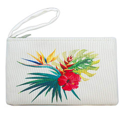 Island Heritage Tropical Clutch Bag Bird of Paradise