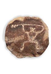 Island Heritage Hand Painted Hawaiian Petro Paddler Magnet
