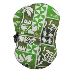 Maui Micro Set of 2 Microwave Potholder Mitts Tree Green