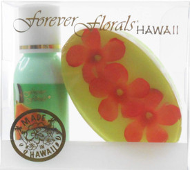 Hawaiian Forever Florals Set Lotion and Glycerin Soap Coco Papaya