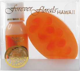 Hawaiian Forever Florals Set Lotion and Glycerin Soap Coco Mango