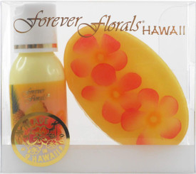 Hawaiian Forever Florals Set Lotion and Glycerin Soap Passion Pineapple