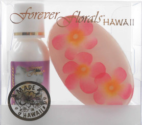 Hawaiian Forever Florals Set Lotion and Glycerin Soap Gardenia