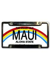 Island Heritage Hawaiian Magnet License Plate & Frame Maui