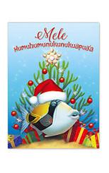 Island Heritage Hawaiian Mele Kalikimaka Humu Christmas Cards Box of 12