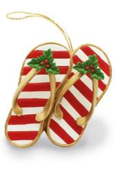 Island Heritage Festive Slippers Ornament