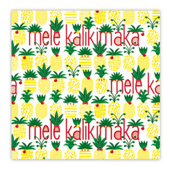Island Heritage Hawaiian Holiday Gift Wrap Paper 4 Rolls Mele Pineapple Parade