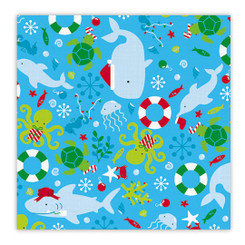 Island Heritage Hawaiian Holiday Gift Wrap Paper 2 Rolls Merry Fishmas