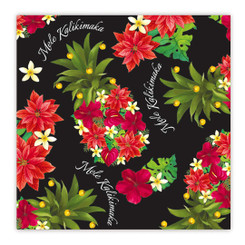 Island Heritage Hawaiian Holiday Gift Wrap Paper 2 Rolls Pineapple Floral