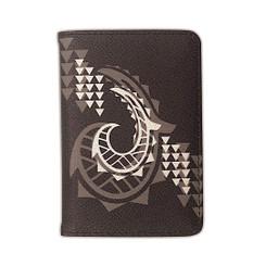 Island Heritage Passport Holder Hawaiian Tribal Gray Hook