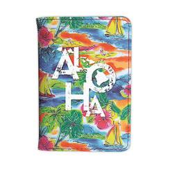 Island Heritage Hawaiian Style Passport Holder Tropical Aloha