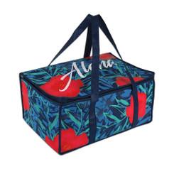 KC Hawaii Insulated Casserole Carrier Bag Blue Aloha