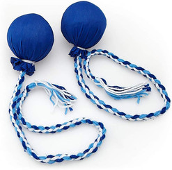 Islander Hawaiian Hula Implement Poi Ball Blue