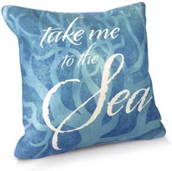 Island Heritage Coastal Pillow Covers Take Me to the Sea