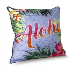 Island Heritage Coastal Pillow Covers Aloha Palm