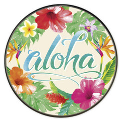 Island Style Wireless Charger Aloha Flora