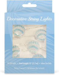 Island Style Decorative String Lights Scallop Shell