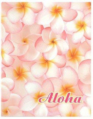 Pink Plumerias 64-View Photo Album
