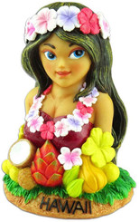 Hawaiian Coin Bank Hula Girl