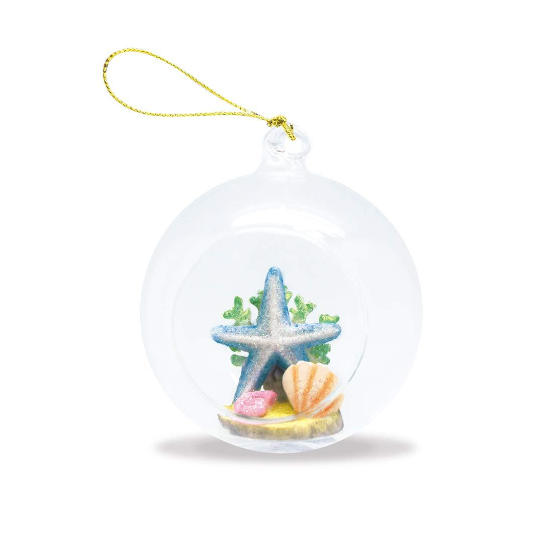 2021 Maui Christmas Ornaments Island Heritage Starfish Hand Painted Glass Globe Hawaii Christmas Ornament Buns Of Maui