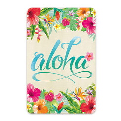 Hawaii Style Playing Cards Aloha Floral