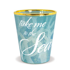 Hawaiian Coastal Island Inspired Shot Glass Take Me to the Sea